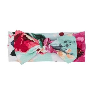Posh Peanut Fuchsia Wildflower Headwrap