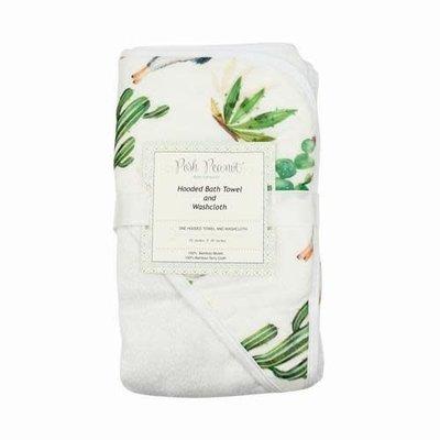 Posh Peanut Llama Bath Towel