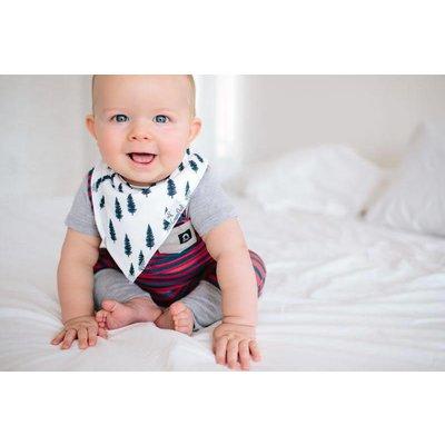 Copper Pearl baby bandana bibs - scout