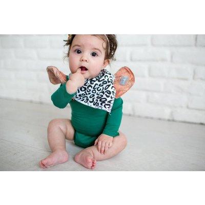 Copper Pearl baby bandana bibs - zara