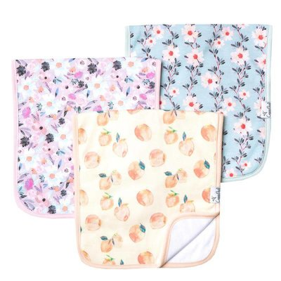Copper Pearl premium burp cloths - morgan