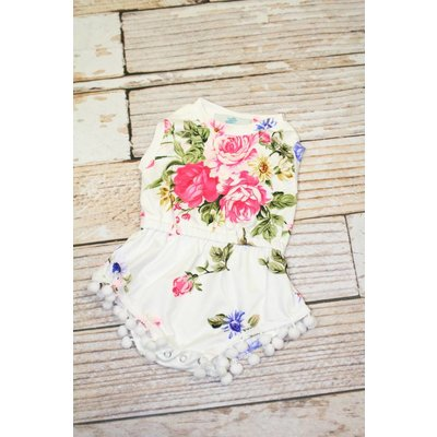 Lincoln&Lexi The Millie Floral Romper