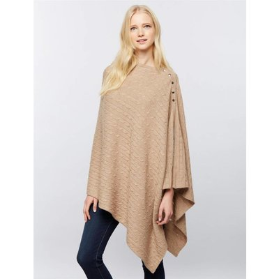 Seraphine Caleb Cable Knit Shawl.OS