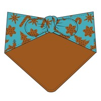 Kickee Pants Print Dog Bandana (Christmas Cookies)