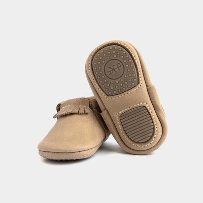 Freshly Picked weathered brown mini sole city mocc