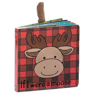 Jelly Cat If I Were A Moose Book