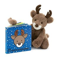 Jelly Cat If I were a Reindeer Book