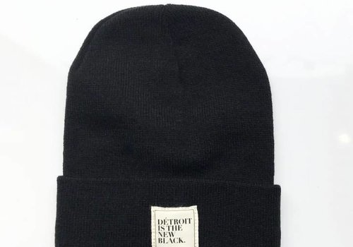 DITNB. Détroit is the New Black Beanie