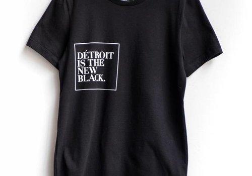 DITNB. Black 6 inch Crewneck