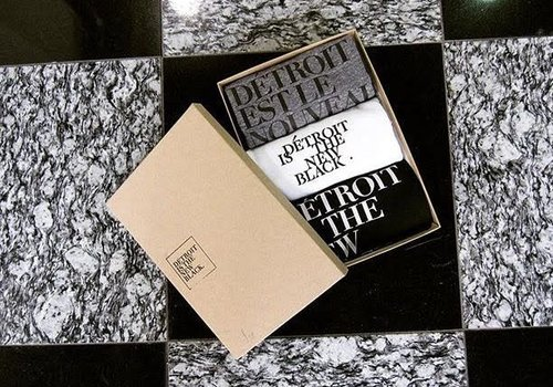 DITNB. Détroit is the New Black Baby Onesie (Set of 3)
