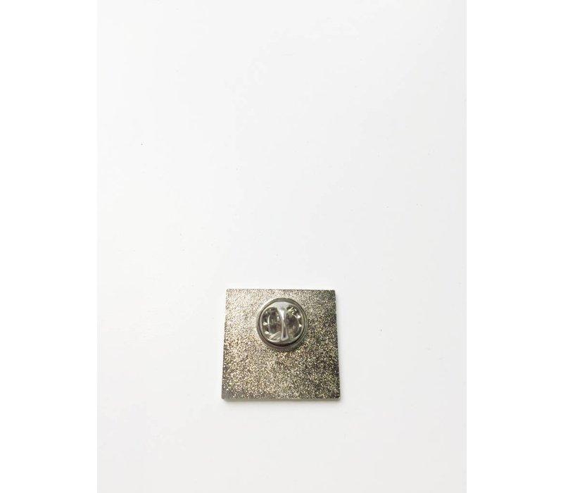 Woodward Enamel Pin