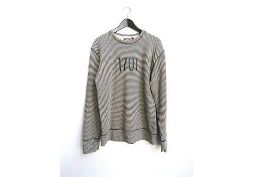 DITNB. Jungmaven- Stripe Sweatshirt