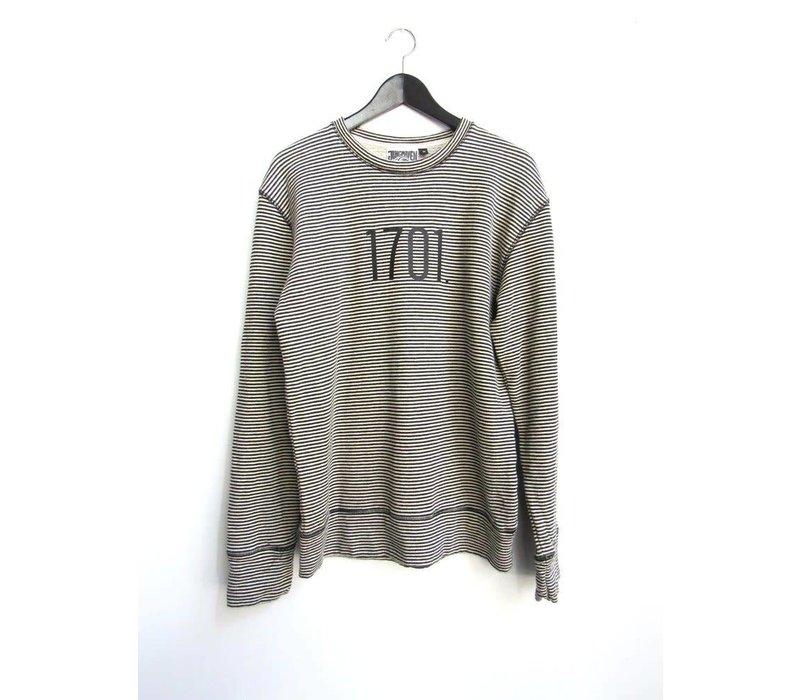 Jungmaven- Stripe Sweatshirt