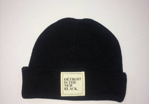 DITNB. Baby Détroit is the New Black Beanie