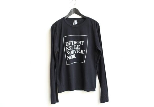 DITNB. Long Sleeve Woodward -black