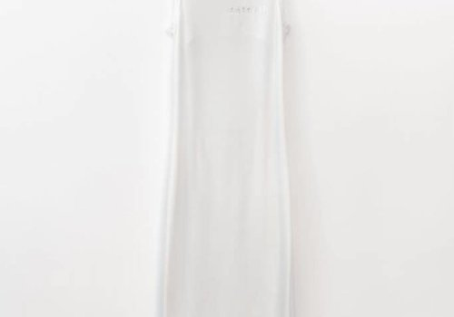 Little Detroit Backless Dress White S