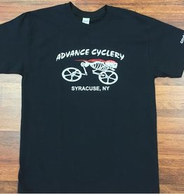 Advance Cyclery T-Shirt (BONES)
