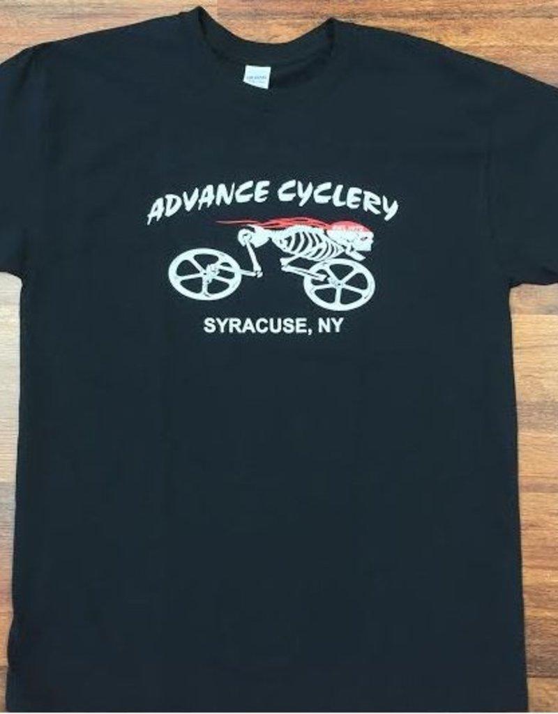 Advance Cyclery T-Shirt (BONES)