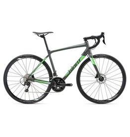 Giant 2018 Giant Contend SL 1 Disc M Matte Charcoal/Neon Green