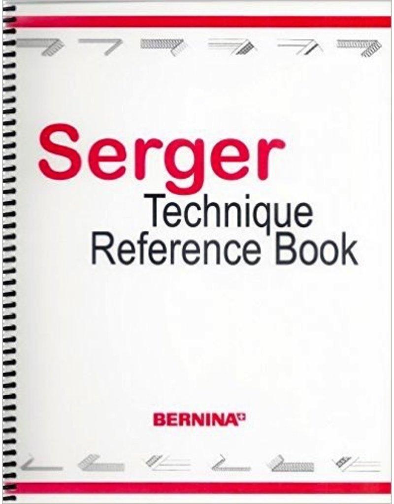 Bernina Serger Technique Reference Book
