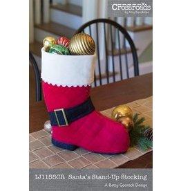 Santa's Stand-Up Stocking