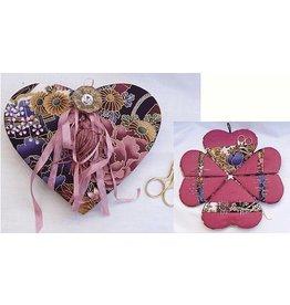 Pop Up Heart Victorian Needle Box