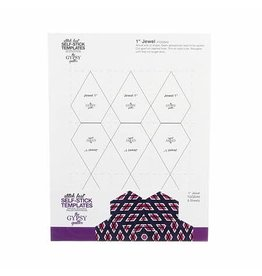 Stitch Fast Self-Stick Template 1 in Jewel