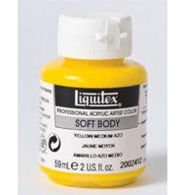 Liquitex® Yellow Medium Azo Soft Body Acrylic Paint 2oz. BottleSeries 2, Transparent