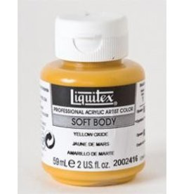 Liquitex® Yellow Oxide Soft Body Acrylic Paint 2oz. BottleSeries 1, Opaque