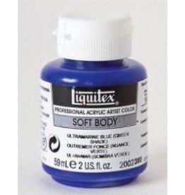 Liquitex® Ultramarine Blue (Green Shade) Soft Body Acrylic Paint 2oz. BottleSeries 1A, Translucent