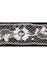 3/4 Inch White Lace by the yard