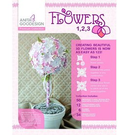 Flowers 1,2,3 Premium Design Pack