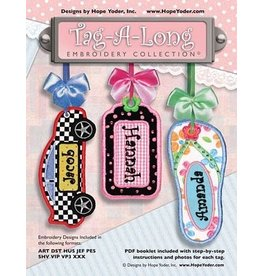 Tag-a-Long Embroidery CD