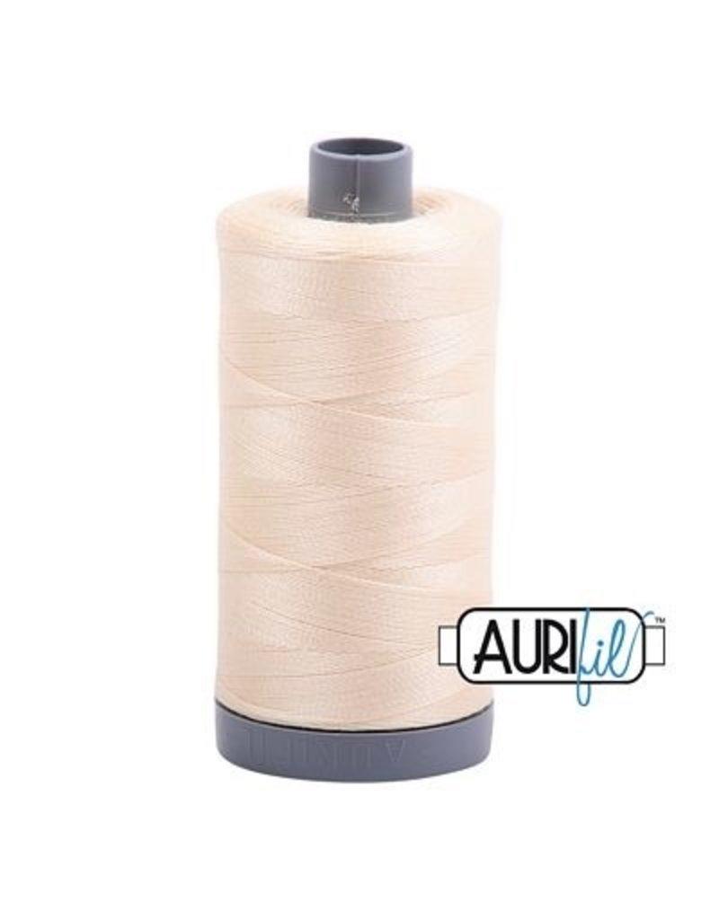 Aurifil 28 wt. Quilting Thread-2123 Butter