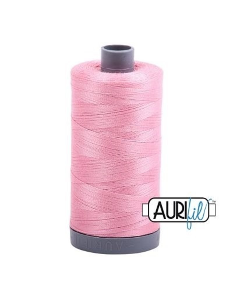 Aurifil 28 wt. Quilting Thread-2425 Bright Pink