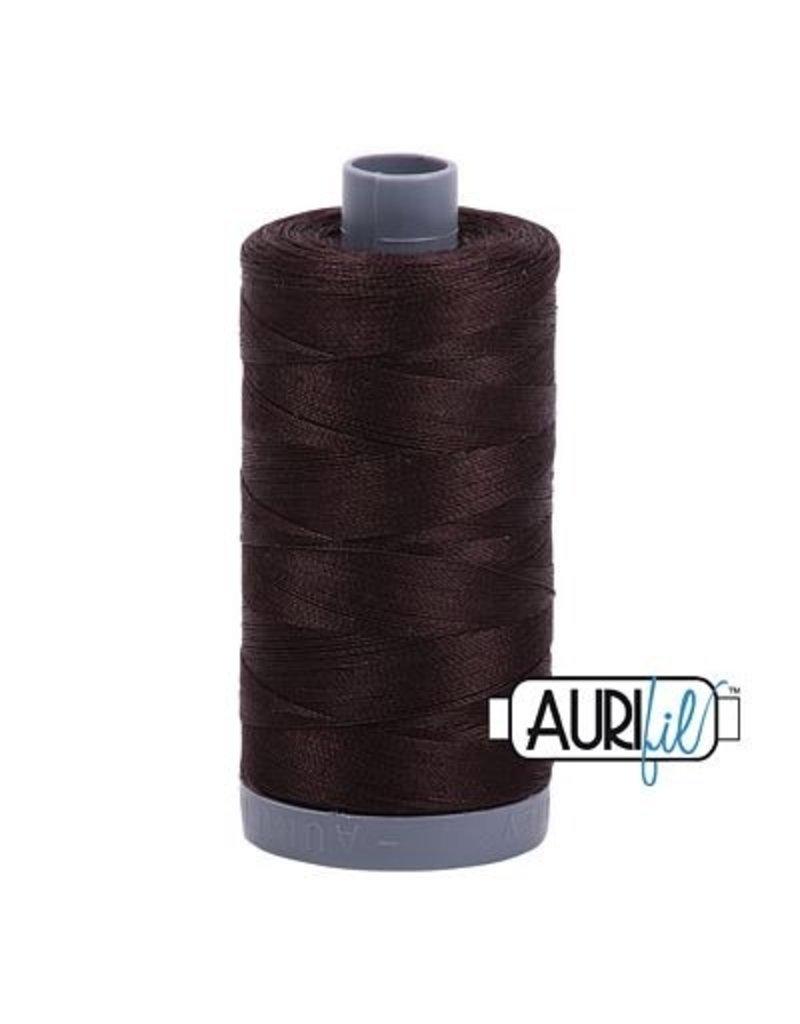 Aurifil 28 wt. Quilting Thread-1130 Very Dark Bark