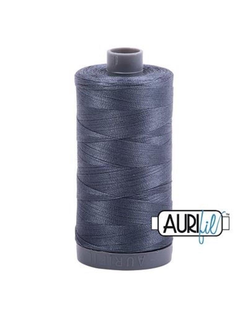 Aurifil 28 wt. Quilting Thread-1158 Medium Gray