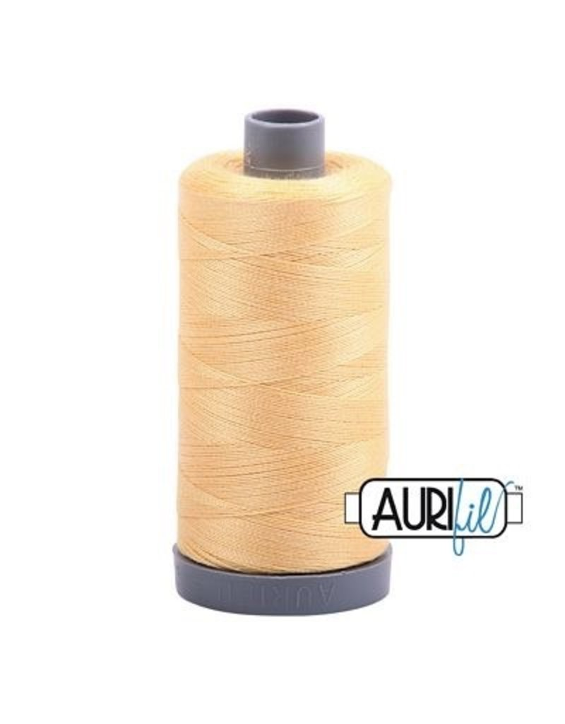Aurifil 28 wt. Quilting Thread-2130 Medium Butter