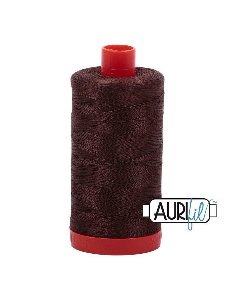 Aurifil 50 wt. Piecing Thread-1285 Medium Bark