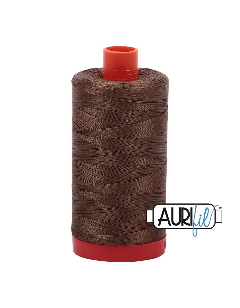 Aurifil 50 wt. Piecing Thread-1318 Dark Sandstone