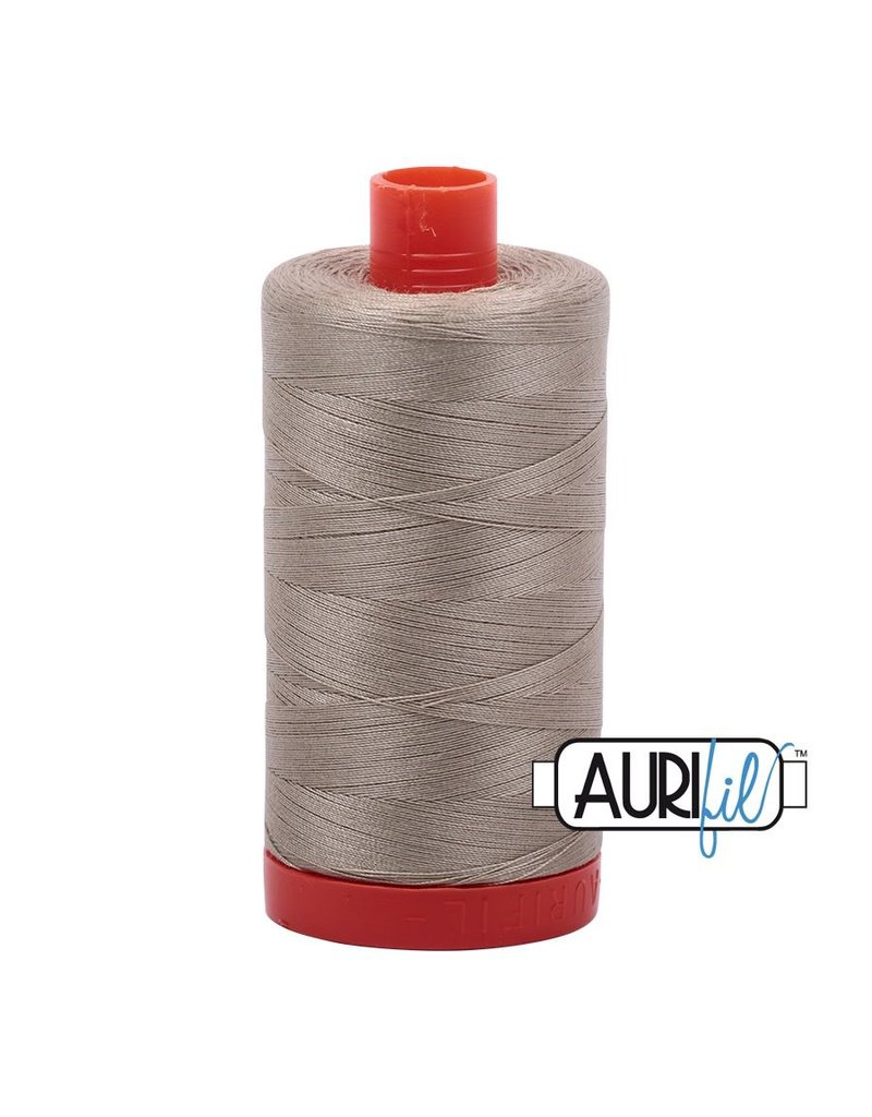 Aurifil 50 wt. Piecing Thread-2324 Stone