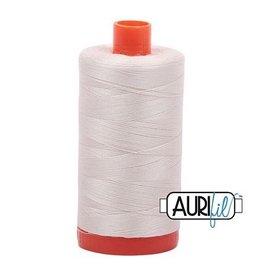 Aurifil 50 wt. Piecing Thread-2309 Silver White