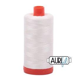 Aurifil 50 wt. Piecing Thread-2026 Chalk