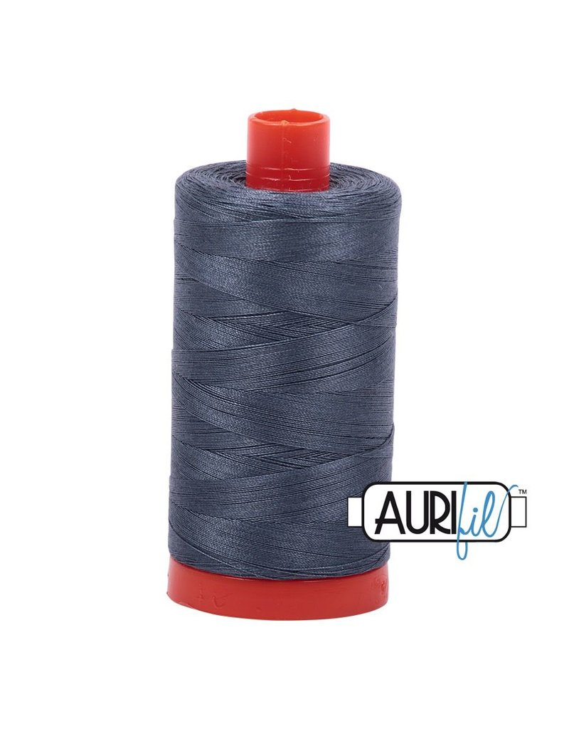 Aurifil 50 wt. Piecing Thread-1158 Medium Grey