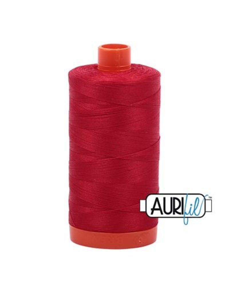 Aurifil 50 wt. Piecing Thread-2250 Red