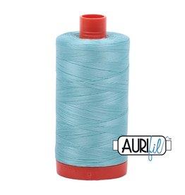 Aurifil 50 wt. Piecing Thread-5006 Light Turquoise