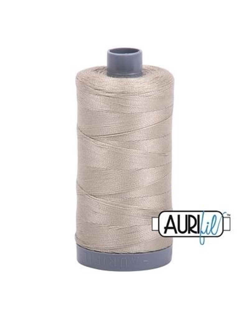 Aurifil 28 wt. Quilting Thread-2324 Stone