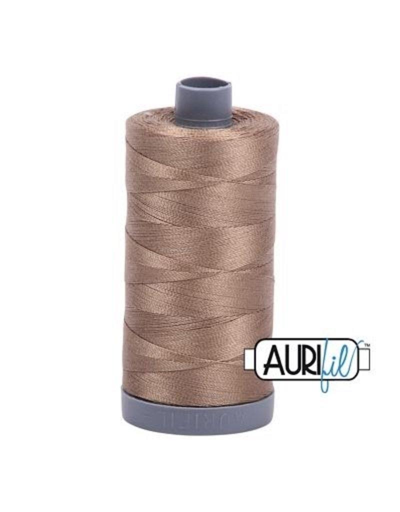 Aurifil 28 wt. Quilting Thread-2370 Sandstone