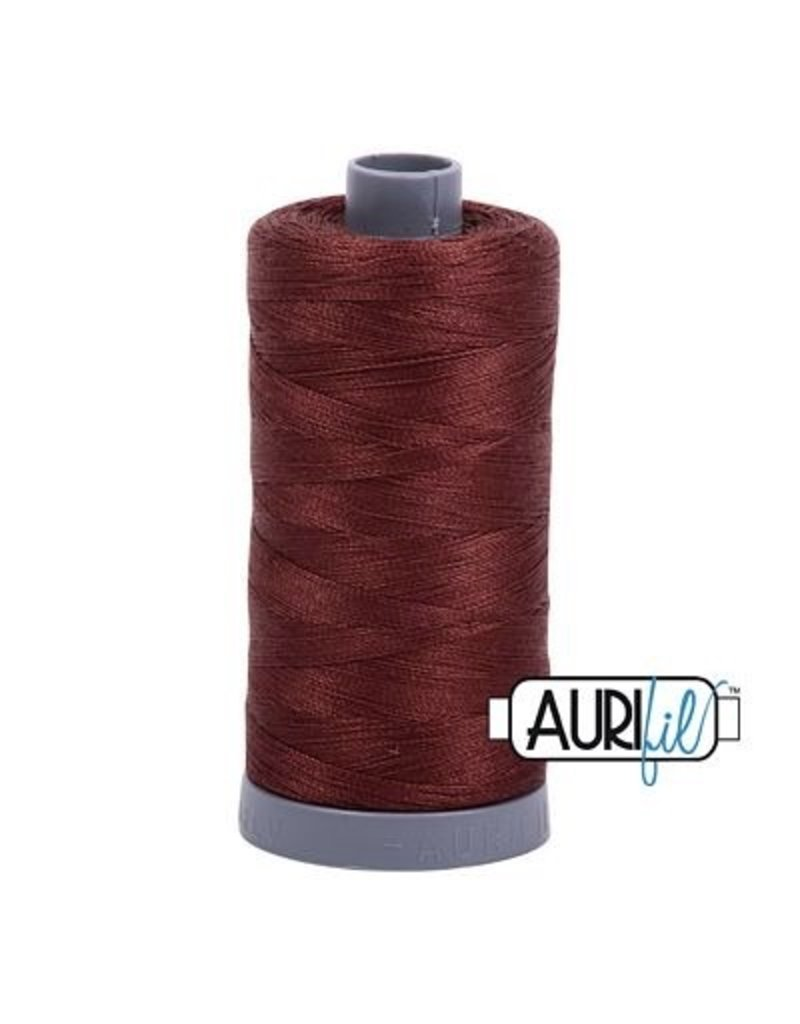 Aurifil 28 wt. Quilting Thread-2360 Chocolate