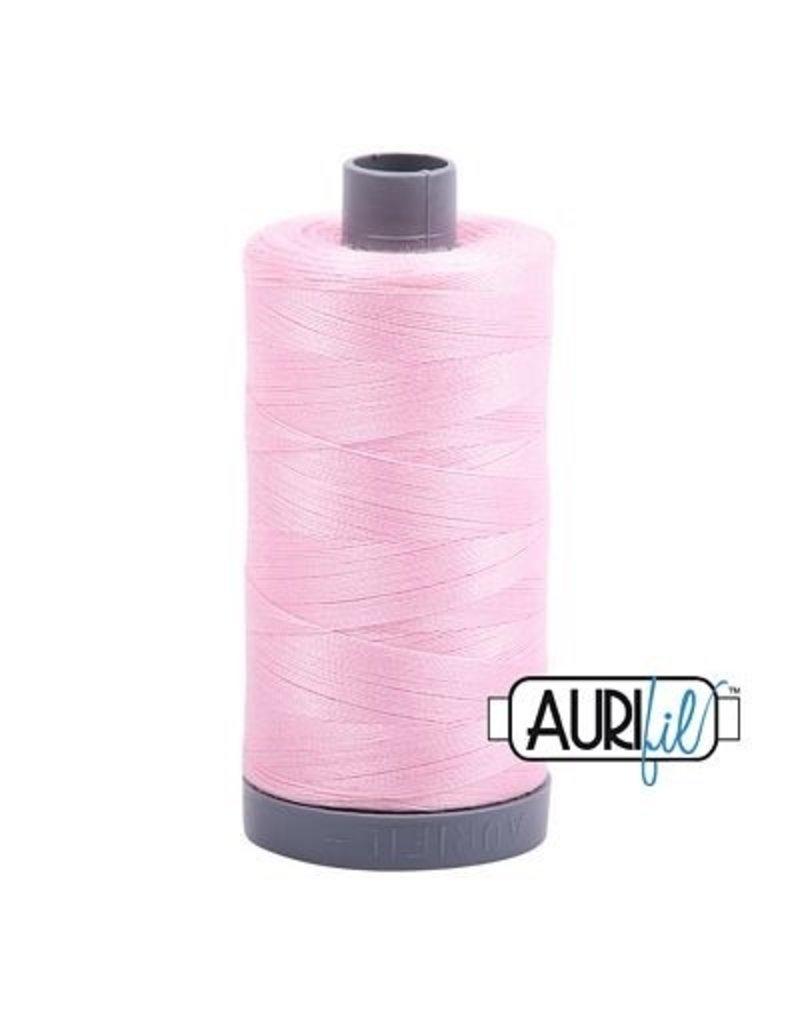 Aurifil 28 wt. Quilting Thread-2423 Baby Pink